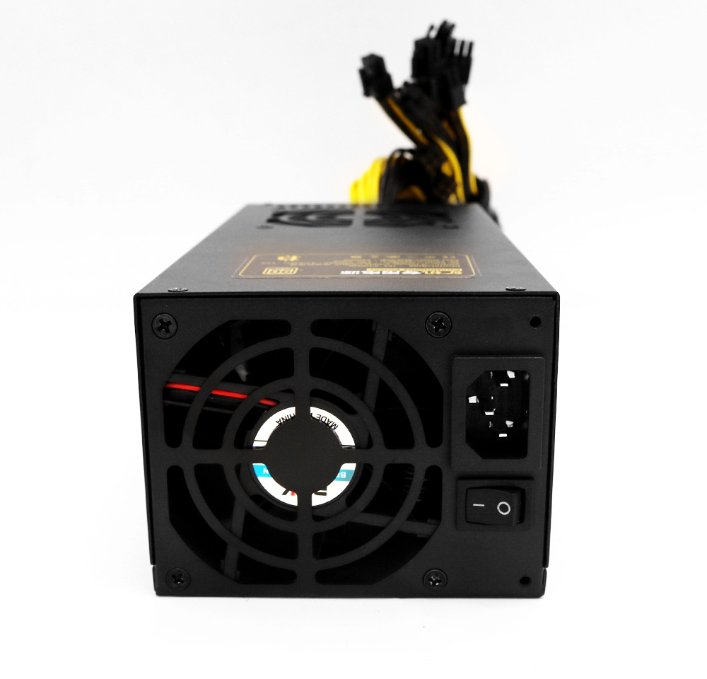 Manufacture 2400W 90plus PC ATX power supply for S7 S9 L3+ D3 R4 Bitcoin miner