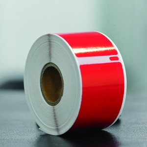 Red dymo 99012 labels
