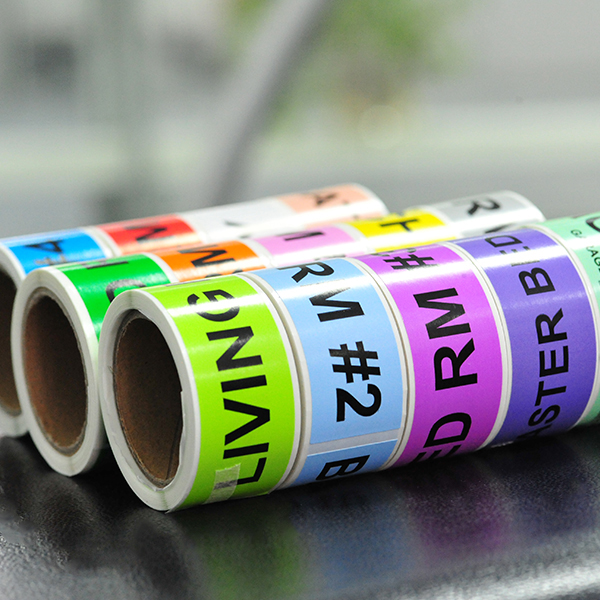 New Delivery for Self Adhesive Fabric Sticker Label -