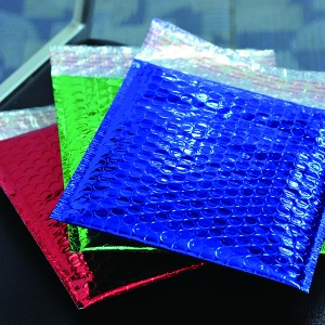 Color Aluminum foil bubble mailing bag