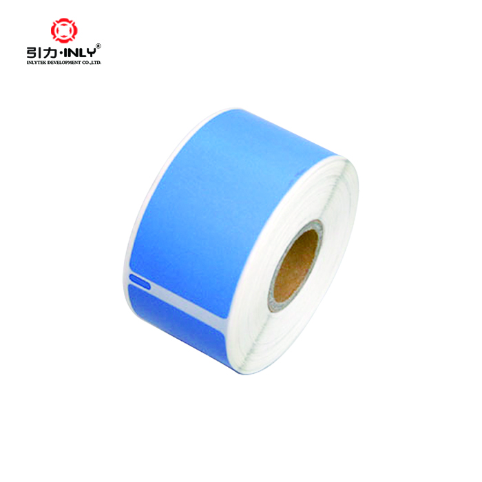 Factory customized Color dymo 99012 compatible labels
