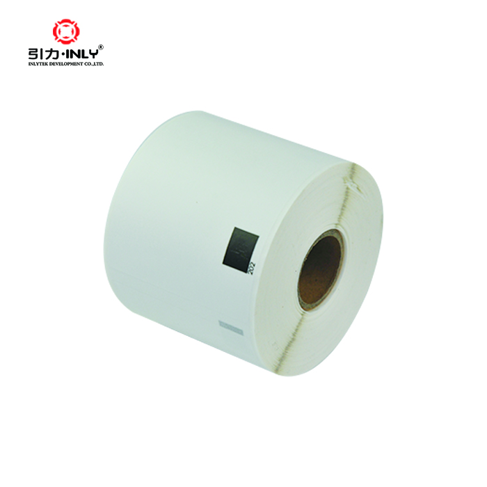 300 labels per roll DK 11202 compatible labels for brother QL printer
