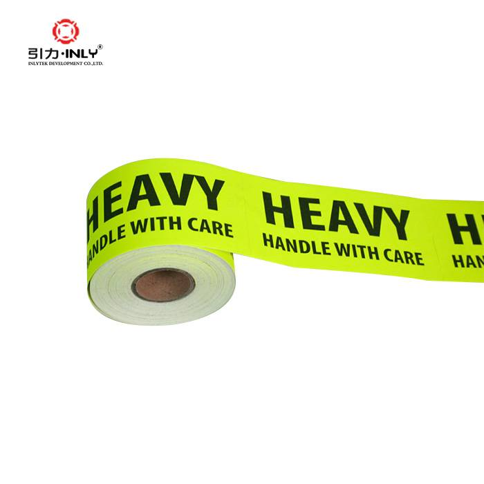 Caution warning label sticker postage label roll HANDLE WITH CARE