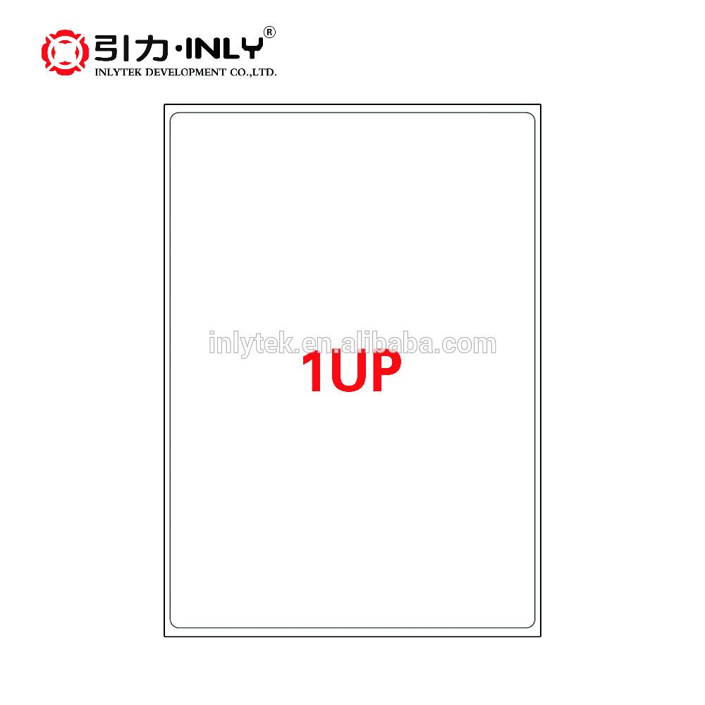 1 up a4 size label laser/inkjet label Ebay address label