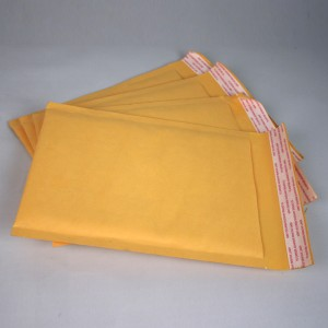 Popular Design for China Color Printing Bubble Mailer Envelope with Adhesive Tape