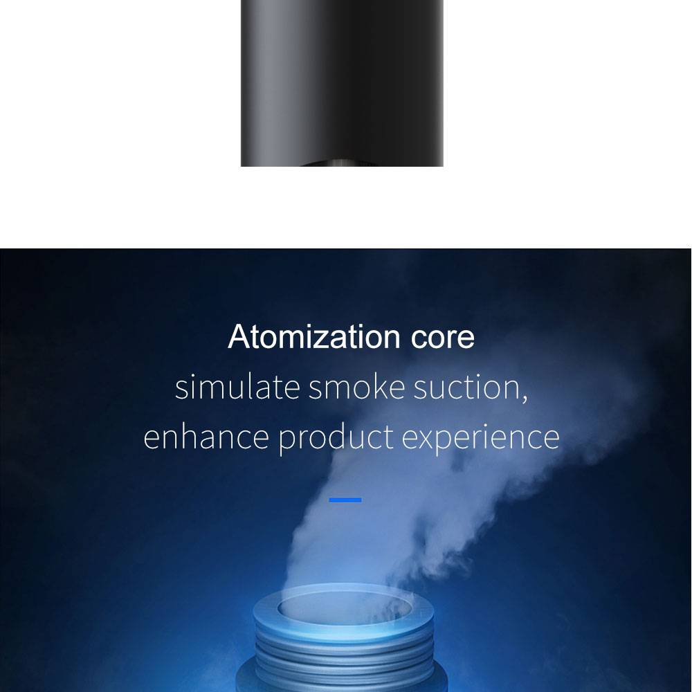 FP7 Plus Atomization core simulate smoke suction, enhance product experience