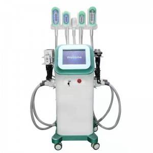 360 Degree Cooling Cryolipolysis 5 Handles Cryo Cryotherapy Fat Freezing Criolipolisis Machine