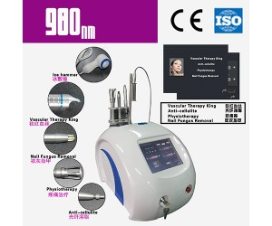 980nm laser 5hz spider vein removal vascular removal blood vessel removal machine LC184