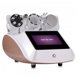 The new style Ultrasound cavitation vacuum weight loss body massager Cellulite slimming machine