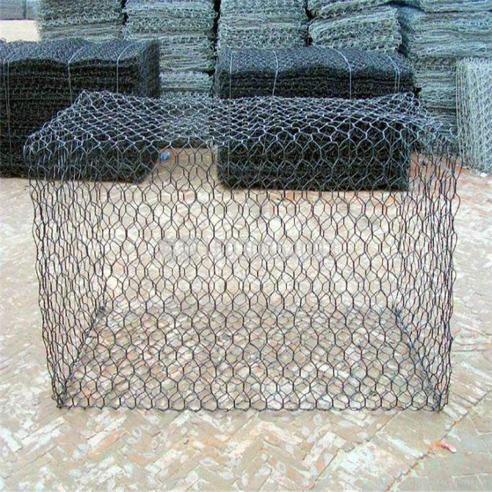 2.7mm Galvanized Gabin Mesh gemaach Fir Riverside Protection