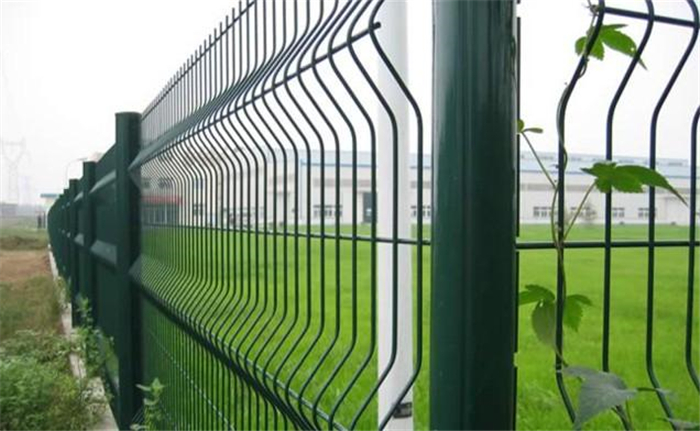 O duro si ibikan Fence-Beautiful PVC Bo welded Wire apapo Fence