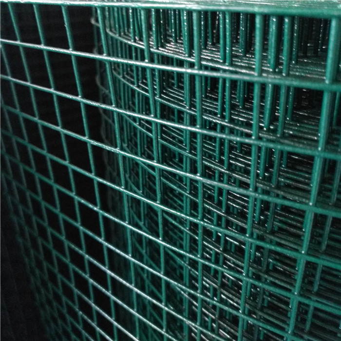 Dark Green PVC Coated Welded Wire Mesh Rolls