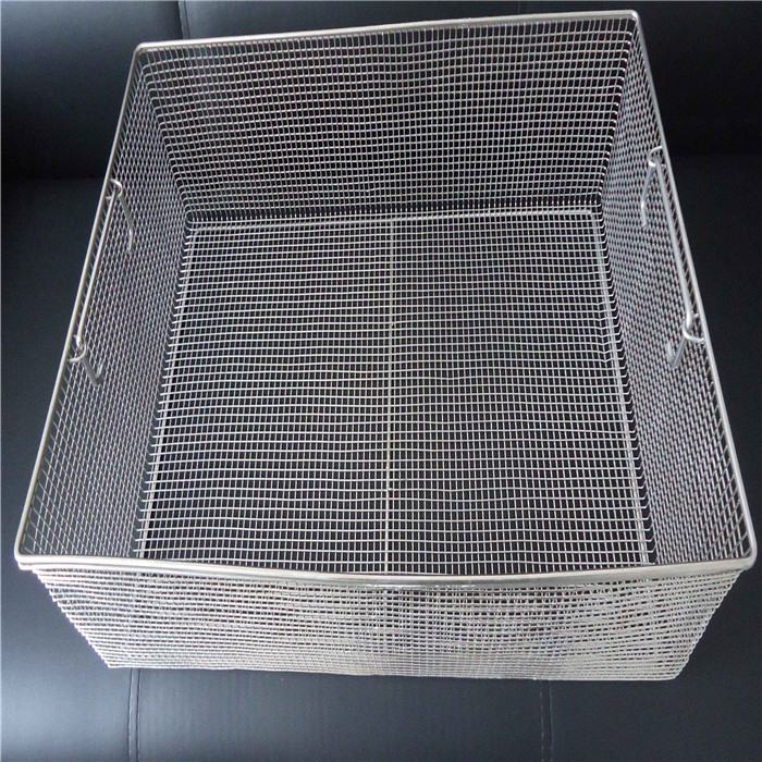 Stainless Steel Mesh Food Basket Featured Image
