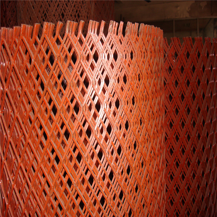 1.2mm Thick Red Expanded Metal Mesh Featured Image