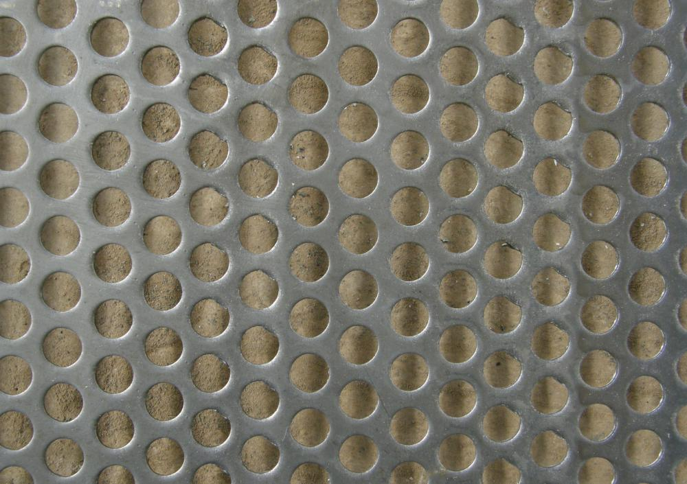 Stainless Steel Perforated Metal Mesh For Highway Barrier