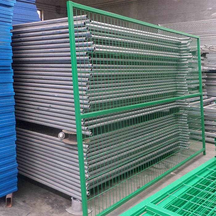 Canadian PVC Coated Temporary Fences Featured Image