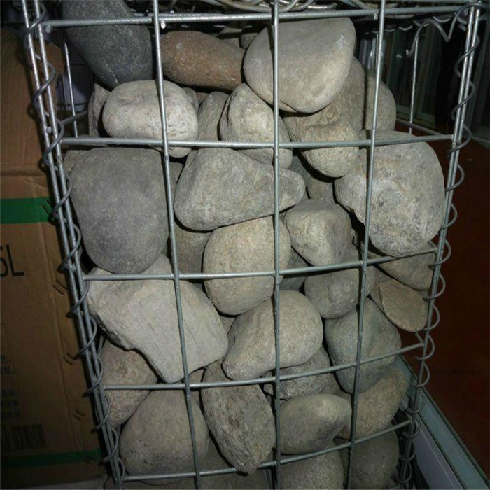 Galvanized Welding Stone Cage Net For Landscape Wall