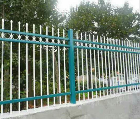 Wrought Iron-Palisade Fence Fence