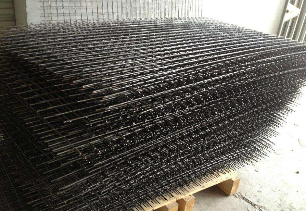 Okuphansi Carbon Steel Wire ashiselwe Wire Mesh Panel