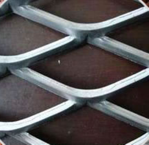 Anti-dizzle Galvanized and PVC Coated Expanded Metal Mesh