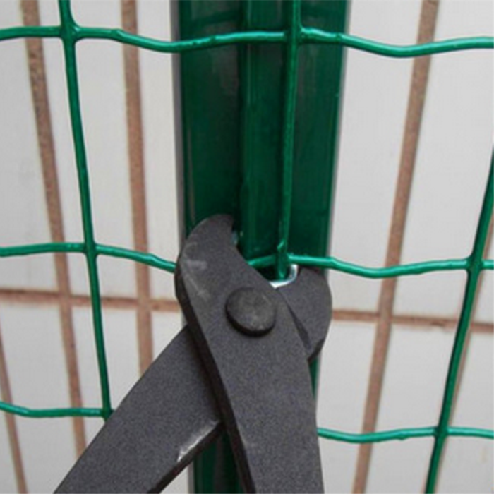 Green PVC Coated Galvanized Welded Wire Mesh Fence