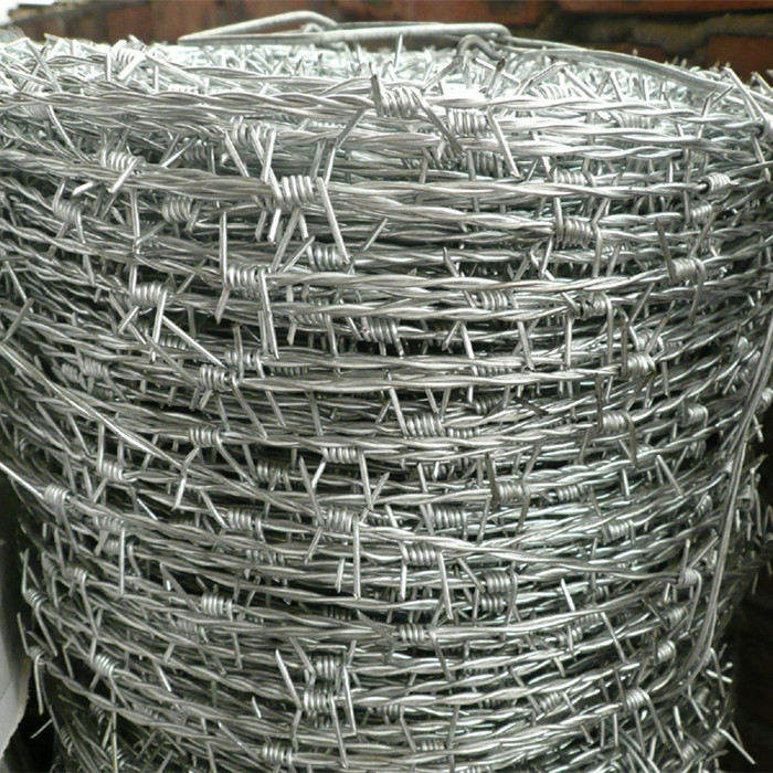 Hot Dipped Galvanized Barbed Wire Fence