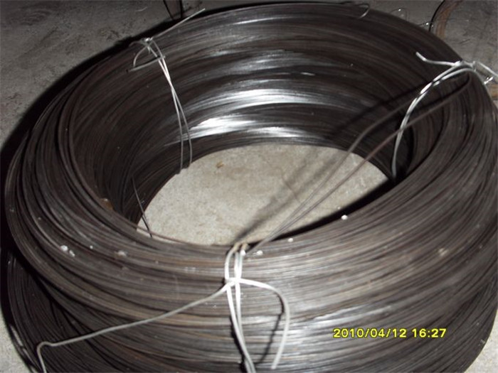 Wire 0.9MMX0.9MM Black Flat Steel