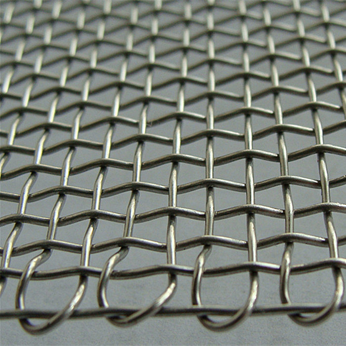Crimped Wire Mesh With Material Stainless Steel