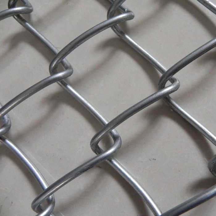 "6 Gauge x 2"" Chain Link Mesh Fence"