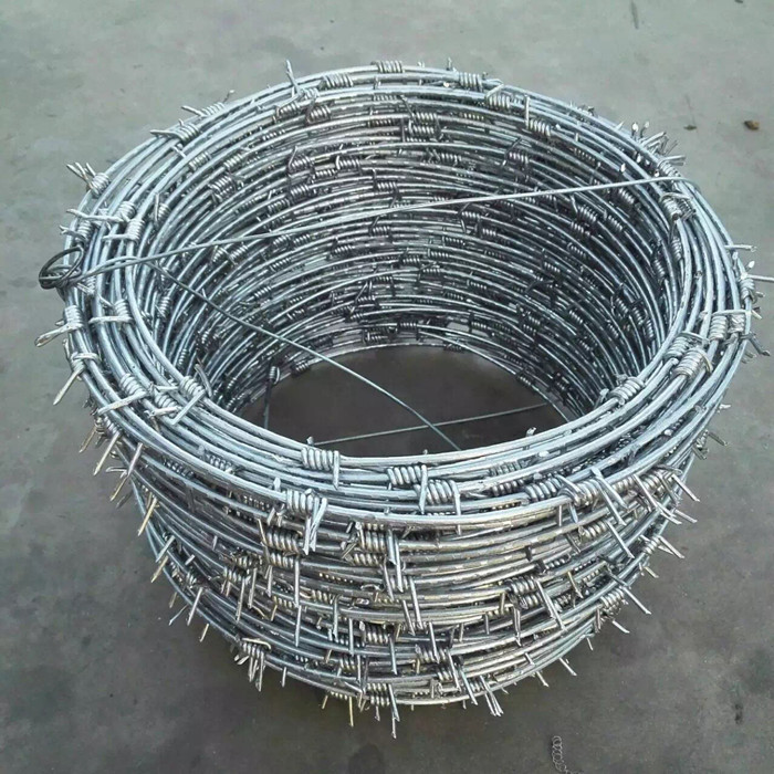 Galvanized Barbed Wire Single Strand Type