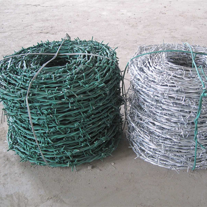 Hot-dip Galvanized Barbed Wire For Security Fence