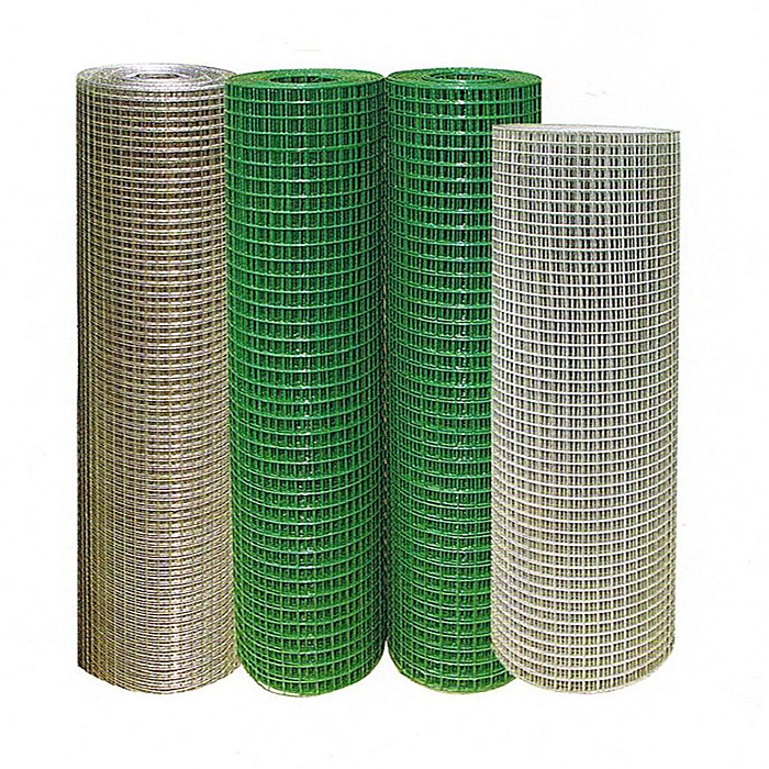Galvanized Welded Wire Mesh Rolls With 1/2 Aperture