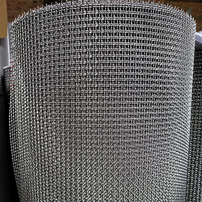Stainless Steel 304 Crimped Wire Mesh