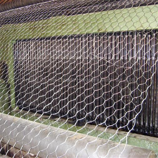 3.9 mm Galvanized Gabion Basket for River Bank Project