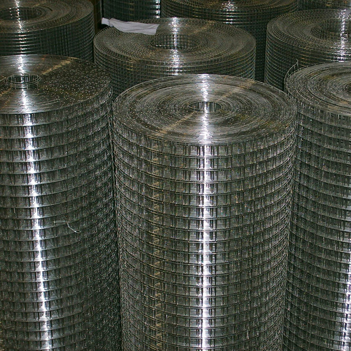 2 Aperture Galvanized Welded Wire Mesh