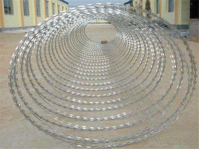 Hot-dip Galvanized Concertina Razor Wire