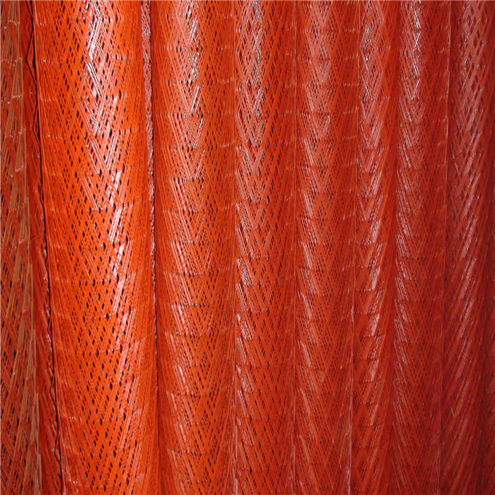 1.2mm Thick Red Expanded Metal Mesh