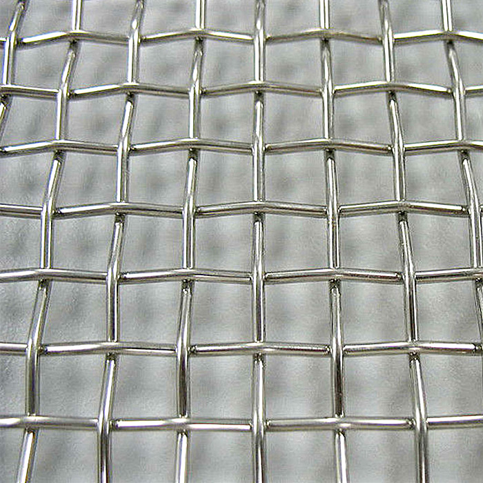 Galvanized or SS Crimped Wire Screen