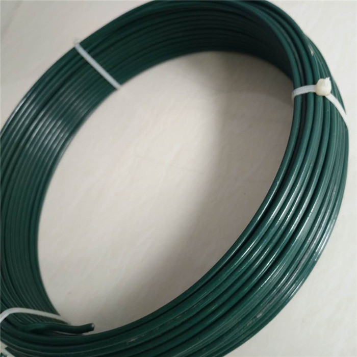 Green PVC Coated Garden Wire