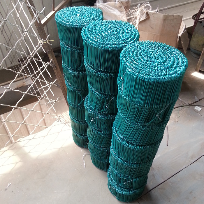 PVC Coated Double Loops Binding Wire