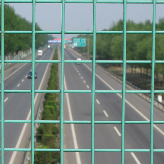 PVC Coated Welded Wire Mesh Panels
