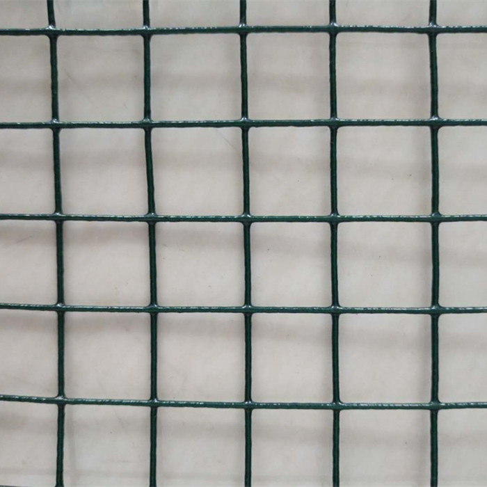 Dark Green PVC Coated Welded Wire Mesh
