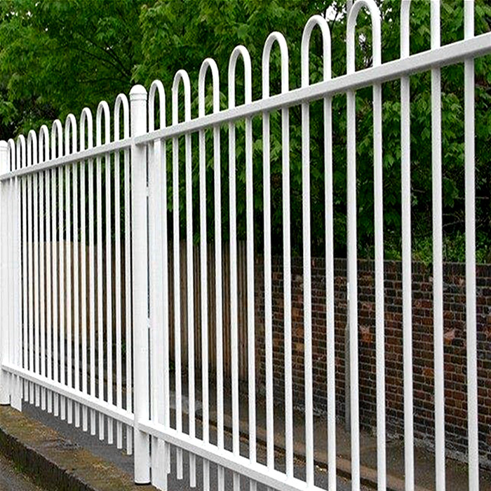 PVC coated U top fence