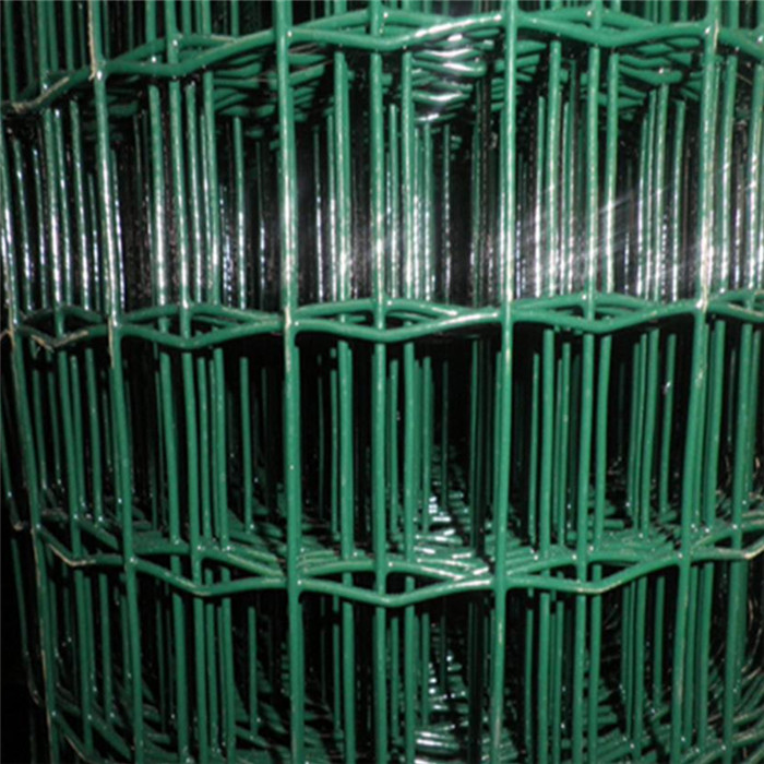 Viridi-coated PVC Welded Euro Wire Mesh istam