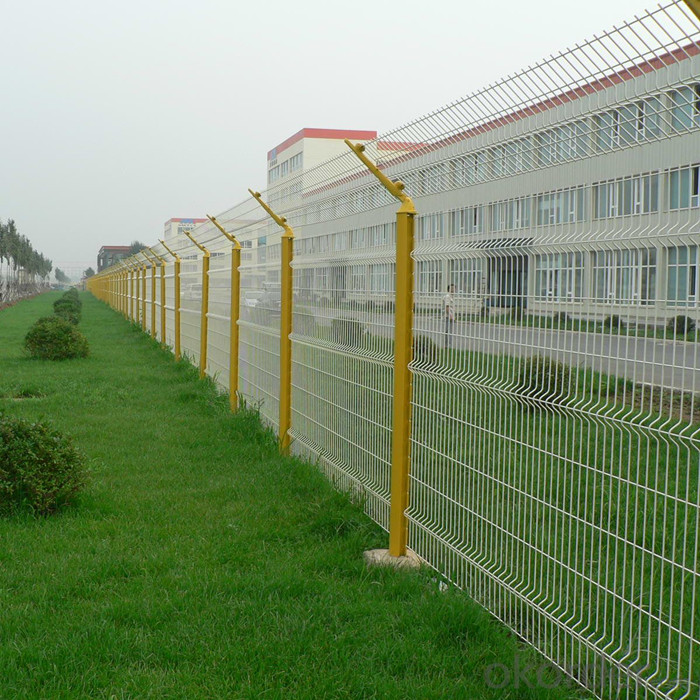 Welded Wire Mesh Security Fence Featured Image