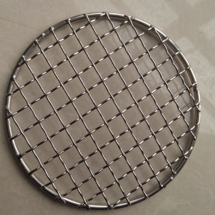 SS Crimped Wire Mesh for Making BBQ Mesh