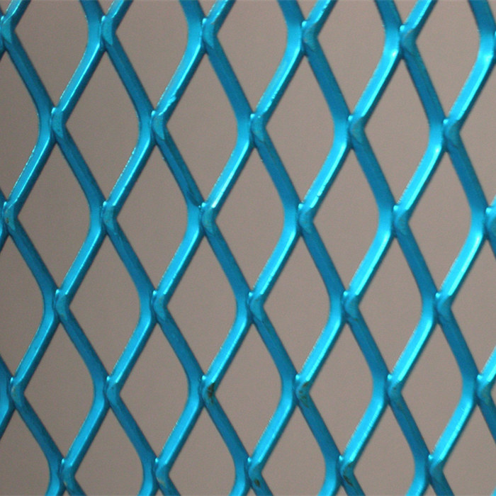 Powder Coated Expanded Metal Mesh Sheet Featured Image