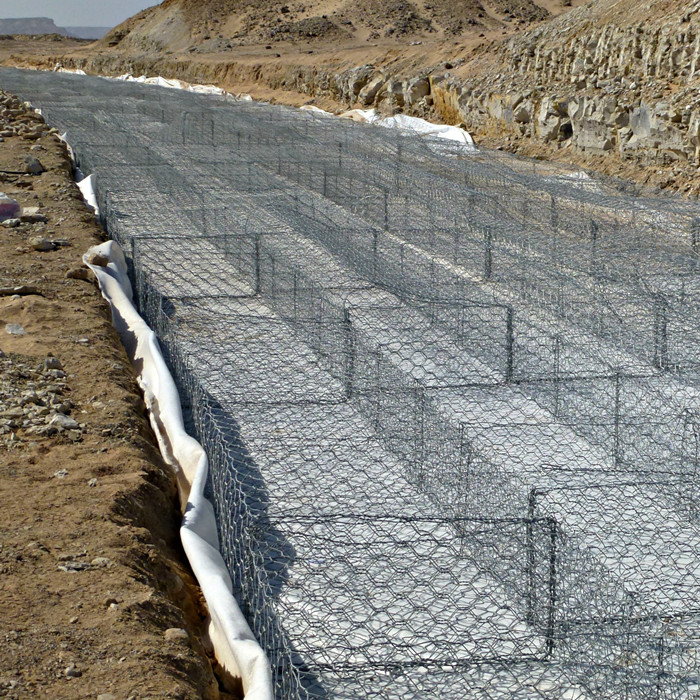 PVC Coated Hexagonal Mesh Gabion Box
