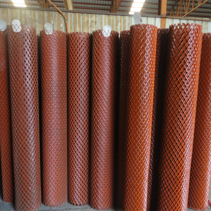 Powder Coated Expanded Metal Mesh Sheet