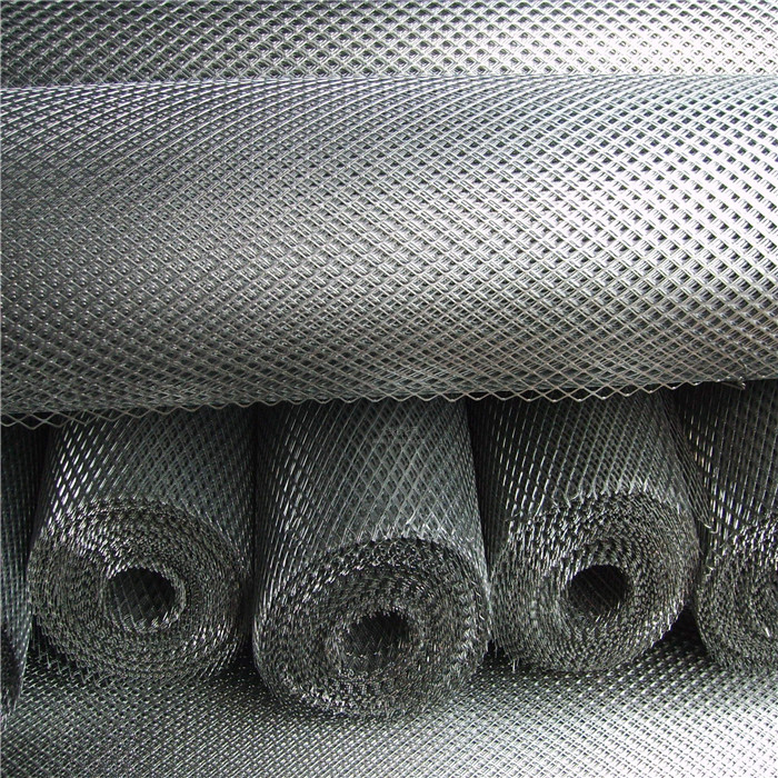 Galvanized/PVC Coted Expanded Metal Mesh For Fencing